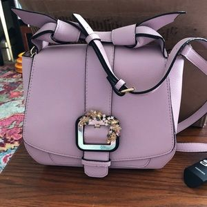 Lavender Gianni Bini Shoulder Bag